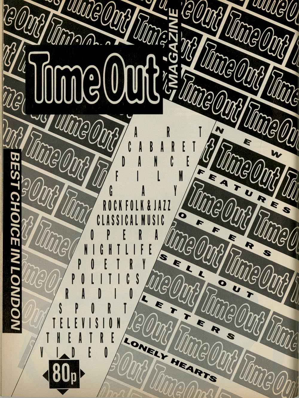 Time Out, i-D Magazine 'POP'