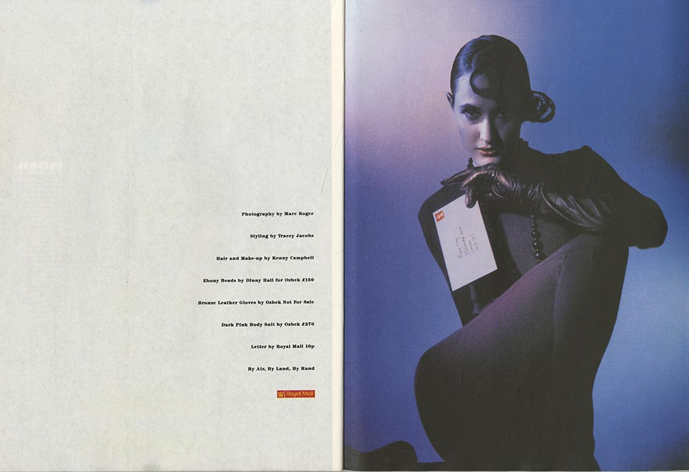 Royal Mail, i-D Magazine 'HEROES AND SHEROES'